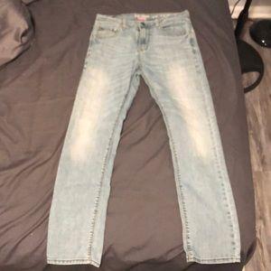 Levi's denim skinny jeans